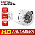 Analógico HD 2MP AHD Camera 2000TVL Vigilância 1.0MP 720 P 1080 P Trabalho Para AHD CCTV Camera Bala de Segurança Ao Ar Livre Baixo 0.001Lux DVR