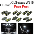 25 unids Bombilla LED Interior Luz de Estacionamiento Para Mercedes Para Mercedes-Benz C219 CLS W219 CLS280 CLS350 CLS300 CLS500 CLS550 CLS55AMG
