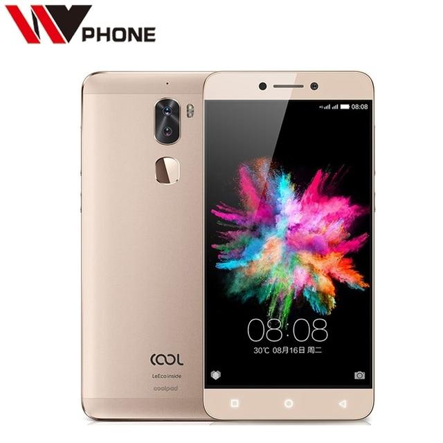 "Original Leeco Cool 1 4G RAM 32/64G ROM Coolpad Cool1 4G LTE Octa Core Android 6.0 5.5"" FHD Dual Back Camera Fingerprint"