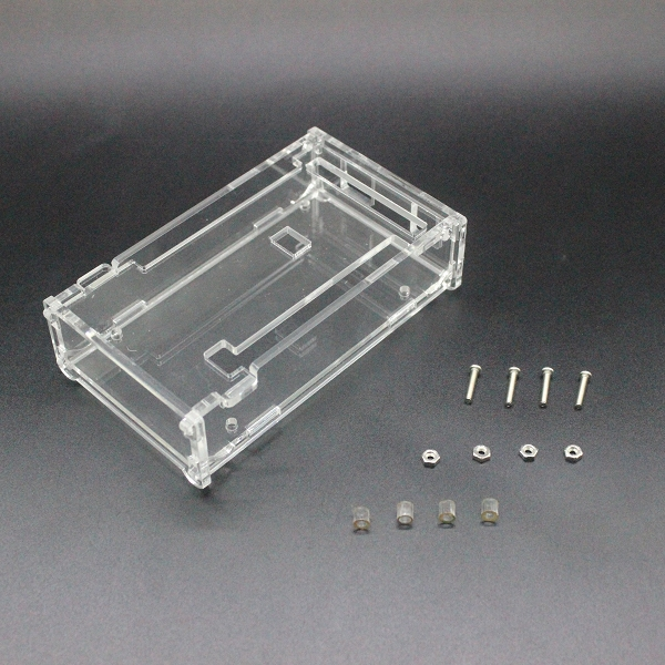 Boîtier Transparent brillant boîte acrylique Compatible pour arduino Mega 2560 R3 Case
