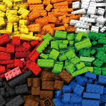 1000 Pieces Building Blocks Sets Legoings City DIY Creative Bricks Compatible with Logo Bricks Bulk Figures Educational Kids Toy цена в Москве и Питере