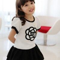 Children Clothes Baby Girls Dresses Hot Summer Printed Lovely Kids Dresses Cotton Nova Brand Beautiful Baby