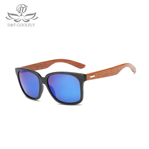 Image 4 - Fashion Wooden Men Women Sunglasses Summer Classic Bamboo Sunglasses Brand Designer Original Frame Handmade Sun Glasses  1519