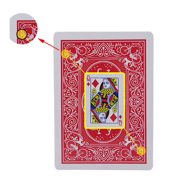 New Secret Marked Poker Cards See Through Playing Cards Magic Toys simple but unexpected Magic Tricks iphone xr case magnetic