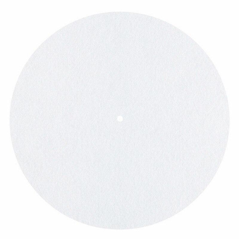 Unterhaltungselektronik Liefern Fühlte Plattenspieler Platter Matte Lp Slip Matte Audiophile 3mm Dicken Slipmat Für Lp Vinyl Rekord In Weiß Farbe GüNstige VerkäUfe