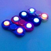 2017 Finger Gyro Fidget Spinner Rotating Spiral High Speed American Adult Toy ABS Luminous Fidget Spinner
