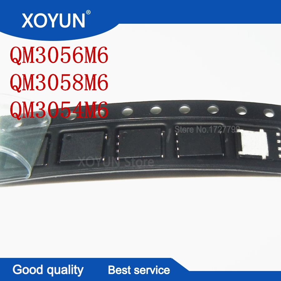 100%New QM3054M6 QM3056M6 QM3058M6 M3054M M3056M M3058M QFN-8 MOSFET