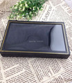 New Fashion! Wholesale 4pcs/lot Black Jewelry Rings Earring Display Show Case Organizer Tray Box 36 Slots Bar-6