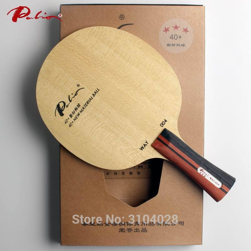 Palio official way004 way 004 table tennis blade pure wood for 40+ new material table tennis racket sports racquet sports