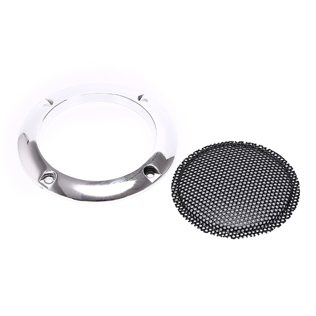 Us 1 19 16 Off 66mm Silver Speaker Protective Grille Circle With Protective Black Iron Mesh Diy Decorative Diy Arcade Cabinet In Coin Operated Games