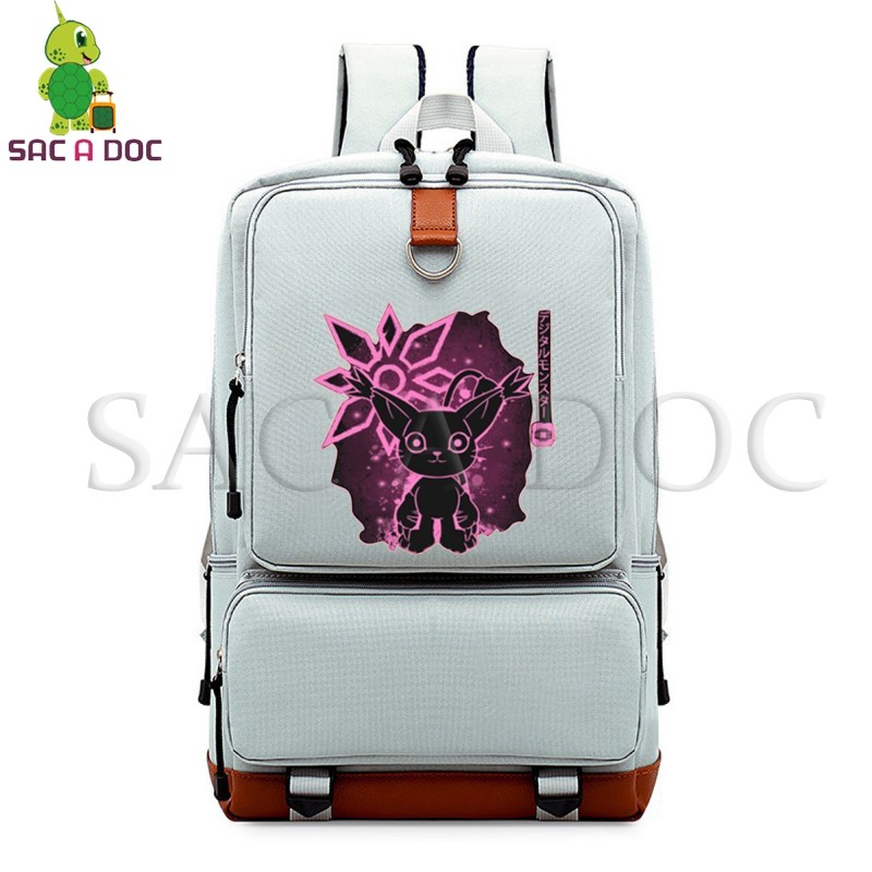 Digimon Adventure Tailmon Fluorescence School Bags for Teenagers Girls Boys Daily  Laptop Backpack Large Capacity Travel BagsDigimon Adventure Tailmon Fluorescence School Bags for Teenagers Girls Boys Daily  Laptop Backpack Large Capacity Travel Bags