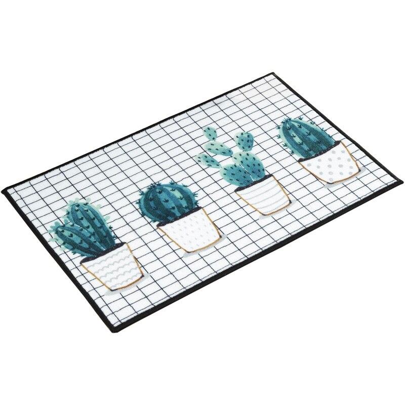 4 Sizes Bathroom Rugs Pastoral Plant Livingroom Carpet ...
