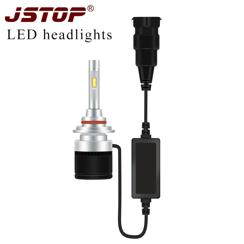 JSTOP Grand Cherokee H1 H7 H4 H9 H11 HB3/9005 super bright high Low beam lights canbus bulbs LED Headlights 12-24V car Headlamps car led lights 9005 spot car lights source 30w headlights 6000k comet series for drl fog light high beam low beam upgrade