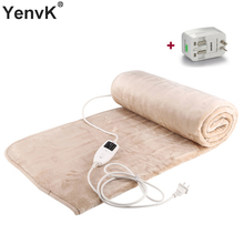 Electric Blanket Heating Thicker Warm Mat Double/Single Body Warmer Couverture Electrique Carpets Handy Heated Thermostat Blanke