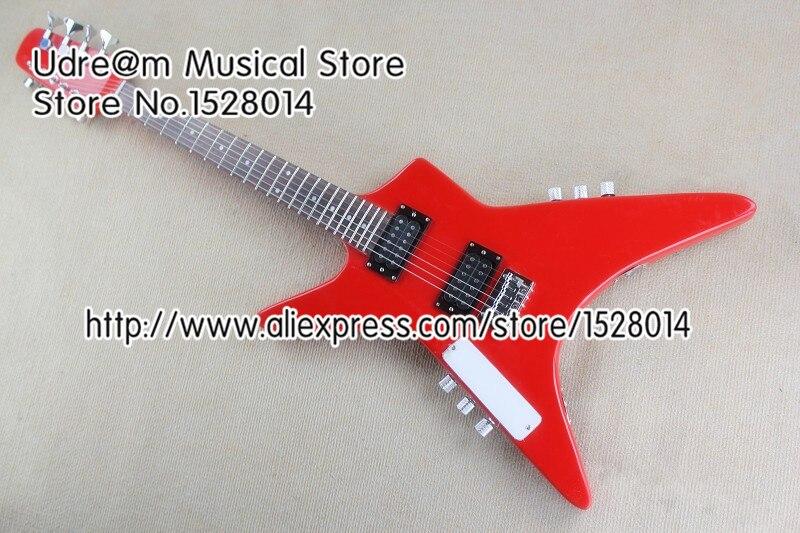 Guitare basse personnalisée 4 cordes basse et 6 cordes Suneye guitare dans un corps et un cou même que l'image à vendre