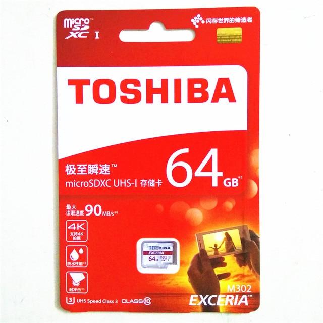 TOSHIBA Memory Card 128GB 64GB 32GB 16GB micro sd card Class10 UHS-1 U3 90MB/S  flash card Memory Microsd for Smartphone/Tablet