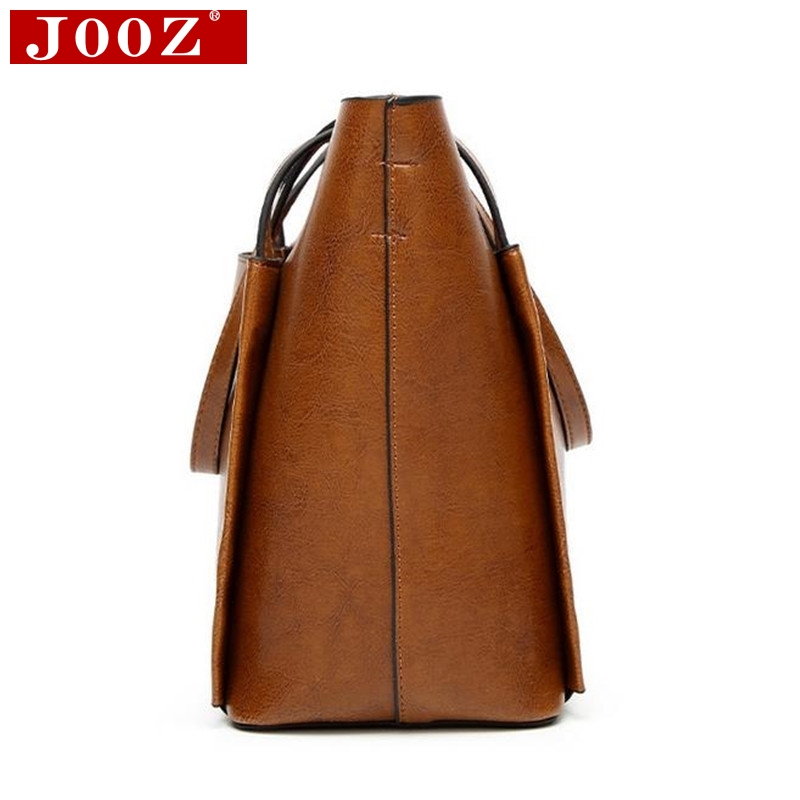 690a2e0fe5 JOOZ Large Soft Leather Bag Women Handbags Ladies Crossbody Bags For Women  Shoulder Bags Female Big ...