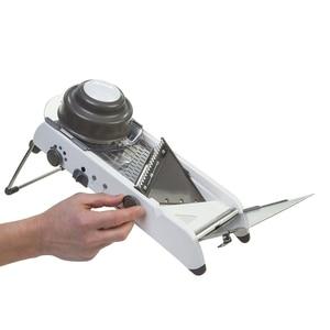 Image 4 - Lekochタマネギおろしshredderグラインダー調整可能なフルーツ野菜カッターポテトスライサーキッチンツールアクセサリーガジェットチョッパー