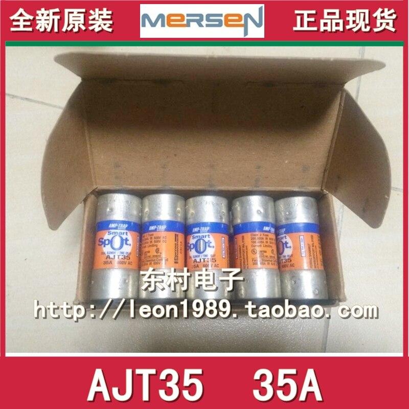 MERSEN Fuse Amp-Trap fuses AJT35 35A AJT40 AJT50 50A 600V [sa]roland ferraz mersen fuses amp trap fuse atqr10 10a 600v 5pcs lot