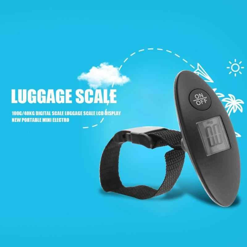 100g/40 кг цифровые весы Чемодан весы ЖК-дисплей Дисплей Новый Портативный Мини Электронные карманные переносной штатив для Вес баланс