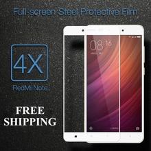 Xiaomi redmi note 4x стекло 9 9н 2.5d 100% полное покрытие из закаленного стекло для xiomi redmi note 4x экран протектор фильм бесплатная доставка