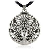 EZEI Mitycznych Obrzęd Hermetyczne z Phoenix Fire Bird Wisiorek Biżuteria