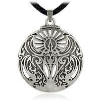 EZEI Mythical Rite Of The Phoenix Fire Bird Pendant Hermetic Jewelry