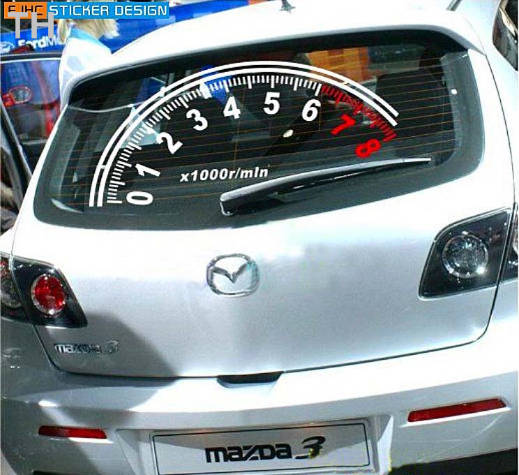 Speedometer 60cm30cm reflective big car sticker vw polo function colourw lada priora lada priora on aliexpress com alibaba group