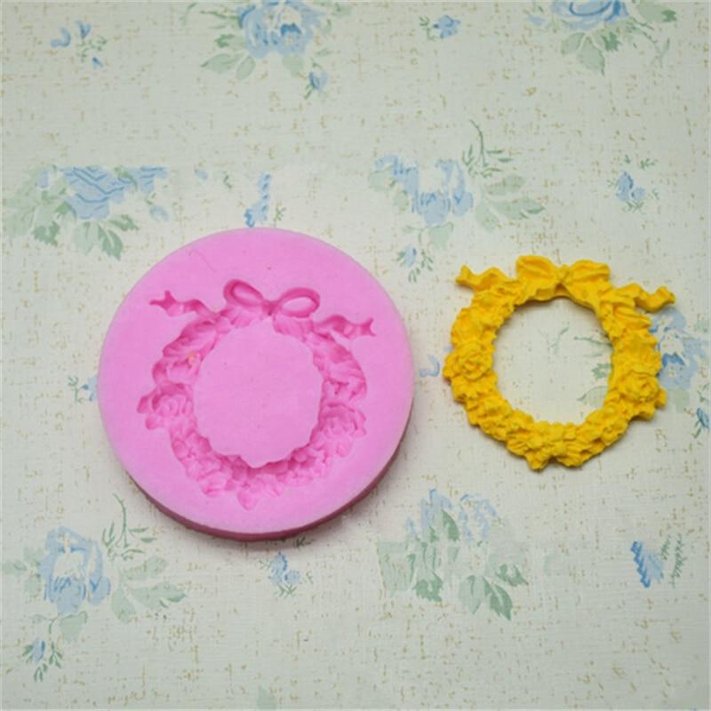 Sugar Craft Flower Silicone Mold Fondant Mold Cake Decorating Tools Chocolate Soap Cake Molds Fondant Decoration Baking Tools