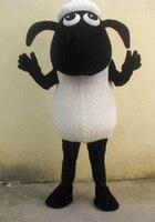 Shaun The Sheep Mascot Costume Black Sheep Lamb Mascot Costume Goat Mascot Costume Fancy Dress Outfit Halloween Cosplay Costume