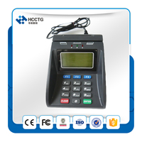 Contact IC chip card NFC Reader Module + PSAM E Payment Security Acess Control Pinpad 128*64 graphic LCD HCC890