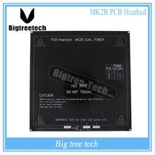 Color negro Nueva RepRap 3D PCB Impresora Heatbed MK2A MK2B Climatizada Cama Placa Caliente Para Prusa Mendel y para 3D piezas de la impresora