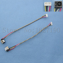 5pcs/lot New PJ197 DC Jack Cable for HP DV7-1000 Series DC Connector Laptop Socket Power Replacement