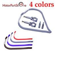 Brush Bar Hand Guards Handguard For 7 8 22mm Universal Handlebar Motorcycle 1Pair 4 Colors 20