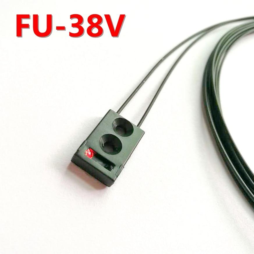 PU-38V Instead of FU-38V Limited Reflective Fiber Amplifier SensorPU-38V Instead of FU-38V Limited Reflective Fiber Amplifier Sensor