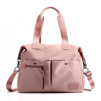 2020 Women Shoulder Bags Oxford Casual Travel Tote Bag Solid Satchel Hand Messenger Bag Ladies Pink Handbags bolsa feminina vsen canvas crossbody shoulder hand tote women bag messenger bags ladies handbags bolsa feminina bolsas bolsos
