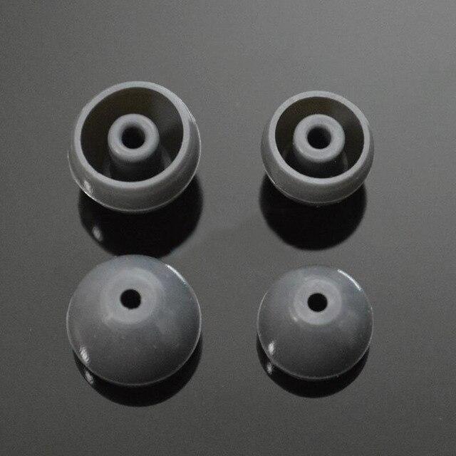 2 pçs/1 pares de silicone in ear capas de fone de ouvido para shure earbud almofadas de ouvido tampas dicas fone de ouvido eartips earplug almofada fone de ouvido