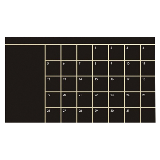 92*60cm Vinyl Wall Planner Classroom Decoration Blackboard Wall Sticker Removable Wallpaper for Home Office Decor 1