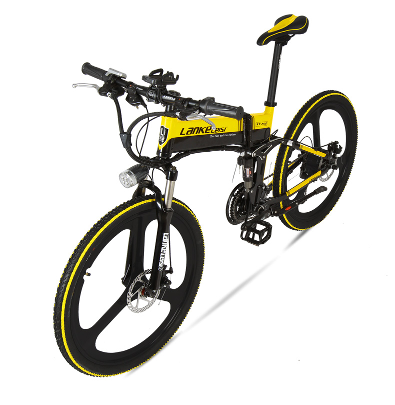 """HTB1DRcma4OMSKJjSZFlq6xqQFXaO - XT750D 27 Velocity 500W Tremendous Energy Excessive High quality 26"""" Foldable Electrical Bicycle, 36V/48V Hidden Lithium Battery Mountain Bike MTB"""