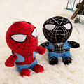 J.G Chen Free Shipping Small 18cm Doll, Baby Toy Cartoon Spiderman Plush Toys, Children's Christmas Gifts Red Black Color