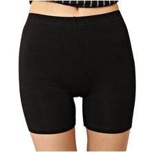 Сексуальные женские мягкие хлопковые бесшовные безопасные Короткие штаны высокого качества под юбку Шорты Модальные шелковые Дышащие Короткие колготки Новинка* 1