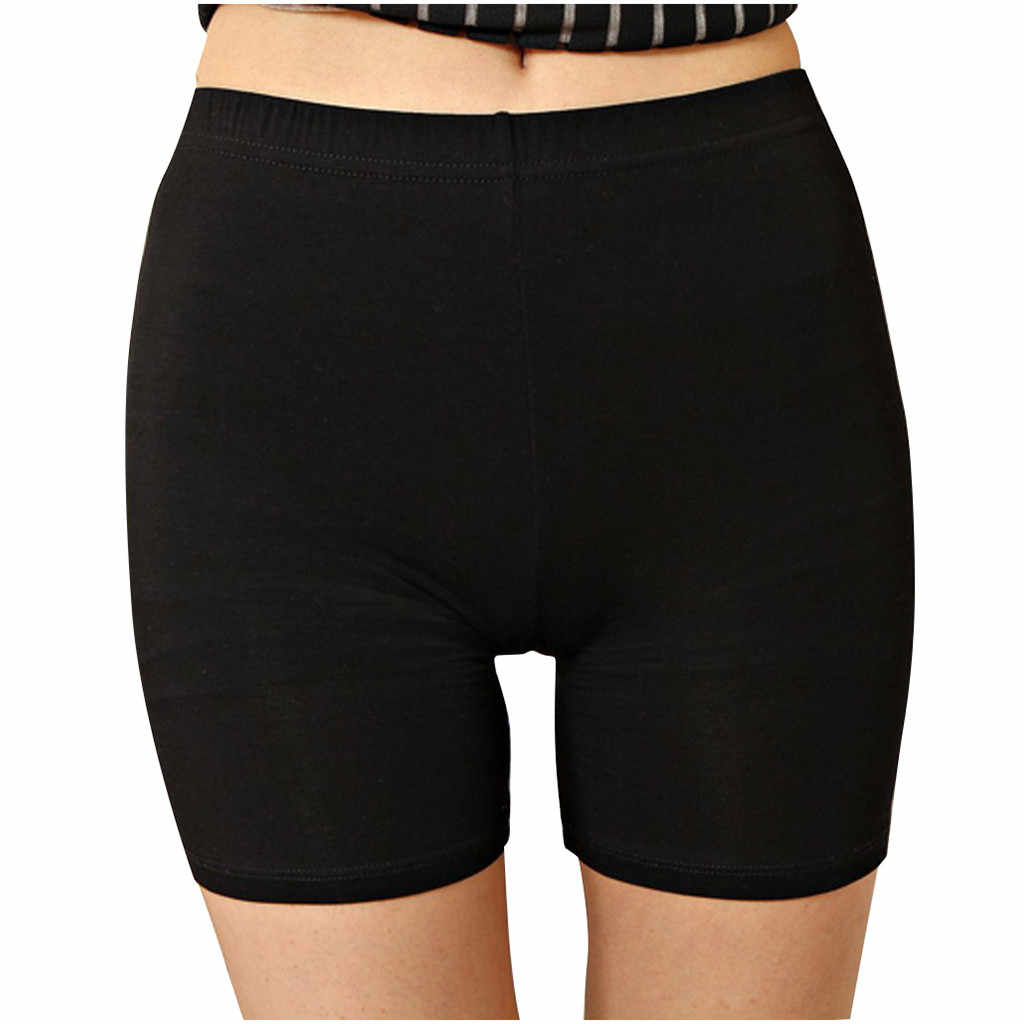Sexy Women Soft Cotton Seamless Safety Short Pants High Quality Under Skirt Shorts Modal Ice Silk Breathable Short Tights New*1