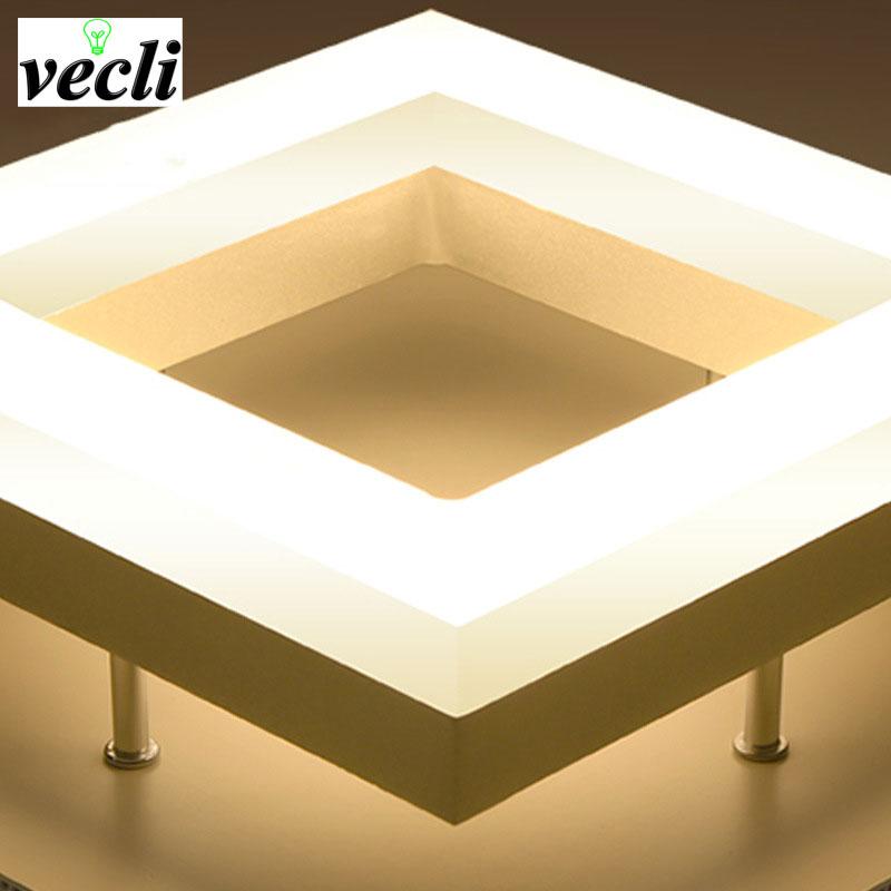 LED proste oświetlenie alejek światła korytarz domu drzwi - Oświetlenie wewnętrzne - Zdjęcie 5