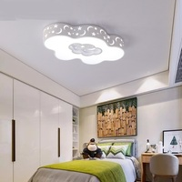 Облако детская комната простой современный творческий для мальчиков теплая одежда для девочек принцесса номер спальне свет потолка lo8175