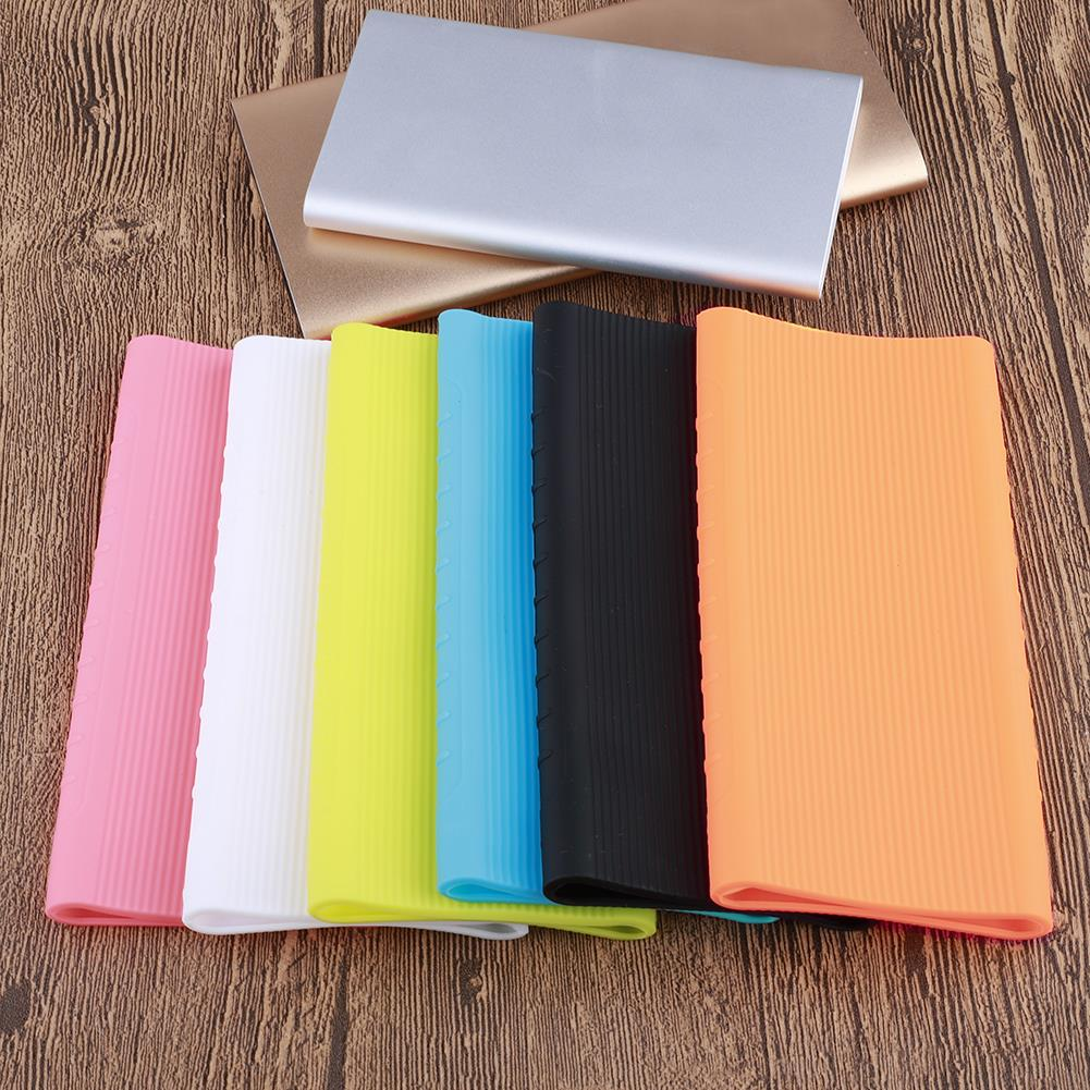 New 1pcs Silicone Power Bank Case Cover 10000mAh External Battery Pack For Xiaomi Model PLM09ZM