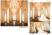 Настроить 40X10ft современной свадебной фотографии фоне темно пол фон для фото люстра Windows фон