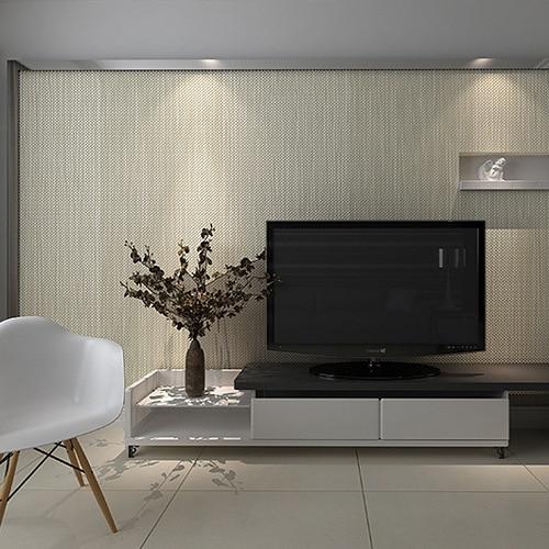 Dimensional Lattice Woven Straw Texture Wallpaper Minimalist Bedroom Living Room Full Of Shops Plain Solid Color