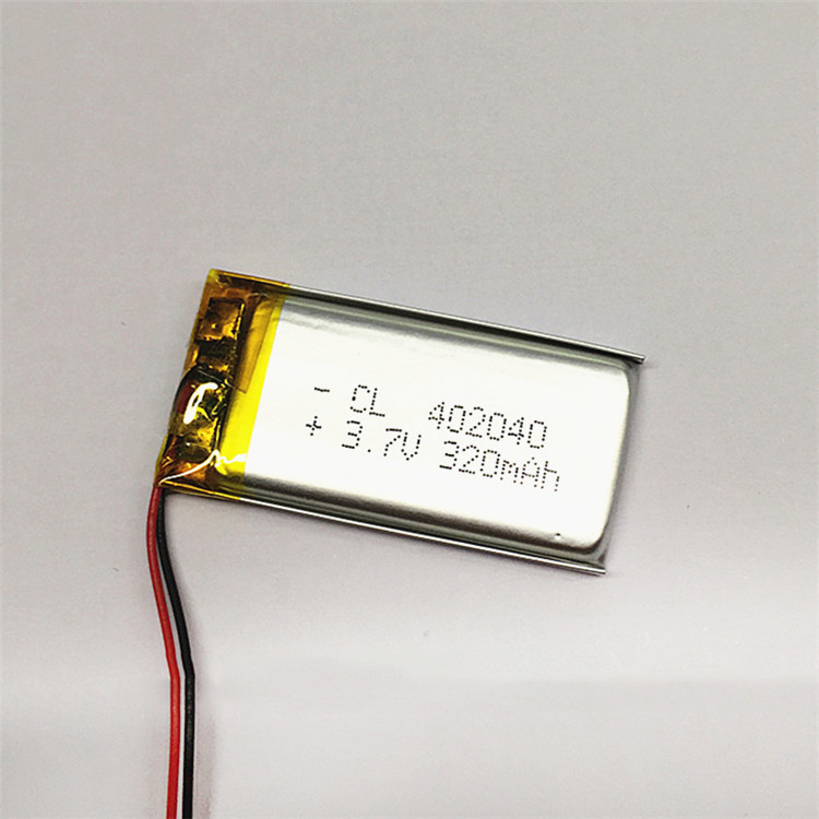 Dinto 402040 1pc <font><b>3.7V</b></font> <font><b>320mAh</b></font> Li-ion Li-polymer Battery Polymer Lithium Batteries Cells for Small Toys MP3 MP4 Cell Phone GPS image