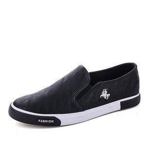 39-45, новинка 2019, модная мужская обувь, уличные мужские лоферы, брендовые кроссовки для прогулок, мужская повседневная обувь, кожаная обувь для мужчин на плоской подошве