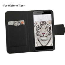 5 Colors Super! For Ulefone Tiger Phone Case Leather Full Flip Phone Cover,High Quality Luxurious Phone Accessories
